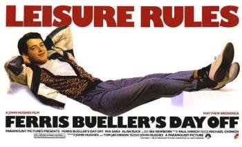 Cartel promocional Ferris Bueller